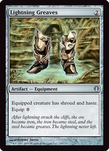 Magic the Gathering Archenemy Single Lightning Greaves - NEAR MINT (NM)