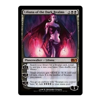 Magic the Gathering 2013 Single Liliana of the Dark Realms - NEAR MINT (NM)