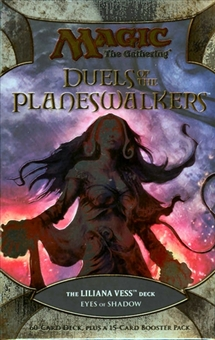 Magic the Gathering Duels of the Planeswalkers Deck - Liliana Vess - Eyes of the Shadow
