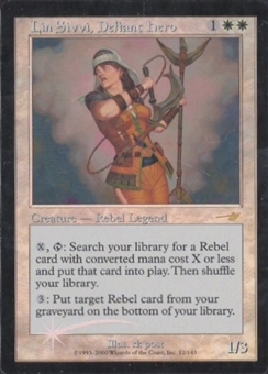 Magic the Gathering Nemesis Single Lin Sivvi, Defiant Hero UNPLAYED (NM/MT)
