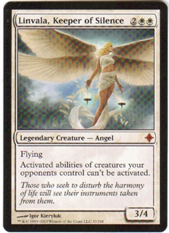 Magic the Gathering Rise of the Eldrazi Single Linvala, Keeper of Silence FOIL NEAR MINT (NM)
