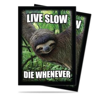 Ultra Pro Sloth Live Slow Die Whenever Standard Sized Deck Protectors (Case of 6000)