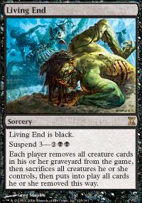 Magic the Gathering Time Spiral Single Living End - NEAR MINT (NM)