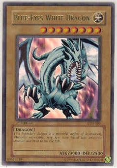 Yu-Gi-Oh BEWD 1st Ed. Blue-Eyes White Dragon Ultra Rare (LOB-001)