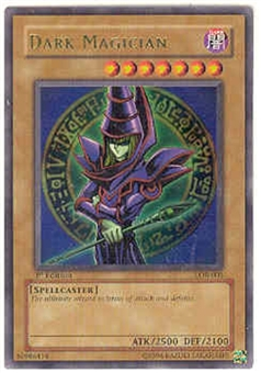 Yu-Gi-Oh BEWD 1st Edition Single Dark Magician Ultra Rare (LOB-005)