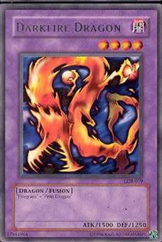 Yu-Gi-Oh BEWD Single Darkfire Dragon Rare (LOB-019)