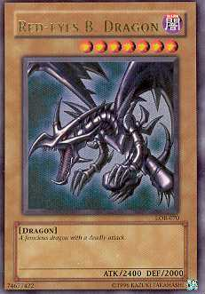 Yu-Gi-Oh BEWD Single Red-Eyes B. Dragon Ultra Rare (LOB-070)