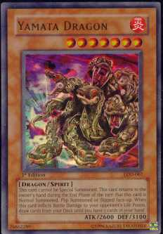 Yu-Gi-Oh Legacy of Darkness 1st Edition Yamata Dragon Ultra Rare (LOD-067)