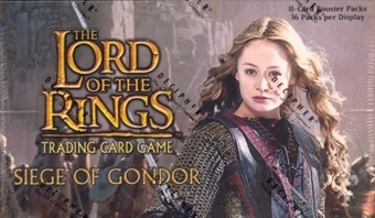 Decipher Lord of the Rings Siege of Gondor Booster Box