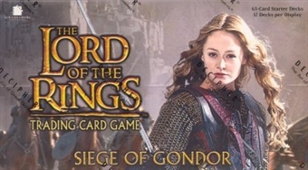 Decipher Lord of the Rings Siege of Gondor Starter Box