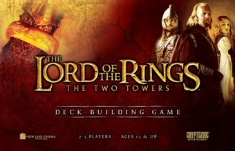 Lord of the Rings: Two Towers Deck Building Game by Cryptozoic