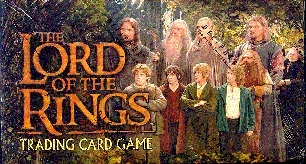 Decipher Lord of the Rings Fellowship of the Ring Starter Deck Box