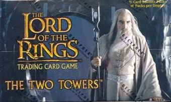 Decipher Lord of the Rings The Two Towers Booster Box