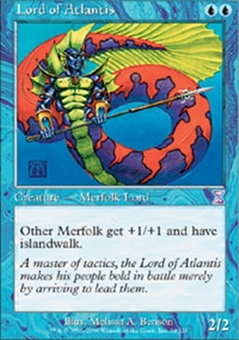 Magic the Gathering Time Spiral Single Lord of Atlantis UNPLAYED (NM/MT)