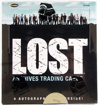 LOST Archives Trading Cards Box (2010 Rittenhouse)