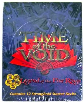 Legend of the Five Rings - Time of the Void Starter Deck Box