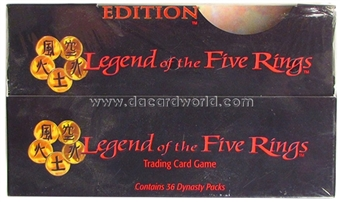 AEG Legend of the Five Rings Pearl Edition Booster Box