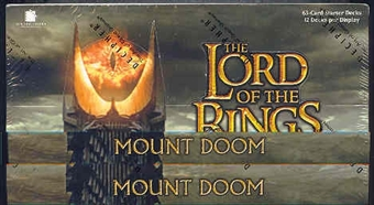 Decipher Lord of the Rings Mount Doom Starter Box