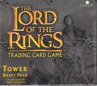 Decipher Lord of the Rings The Two Towers Draft Deck Box