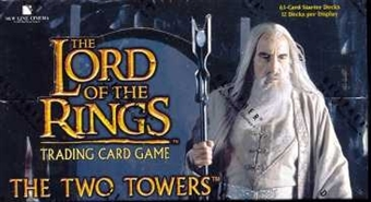 Decipher Lord of the Rings The Two Towers Starter Deck Box
