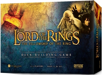 LOTR: Fellowship the Ring Deck Building Game by Cryptozoic