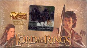 Lord of the Rings The Fellowship of the Rings Action Flipz Hobby Box (Artbox)