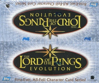 Lord of the Rings Evolution Retail Box (2006 Topps)