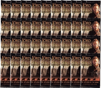 Decipher Lord of the Rings Return of the King Booster Pack (Lot of 36)