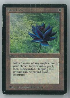 Magic the Gathering Beta Single Black Lotus - HEAVY PLAY (HP)