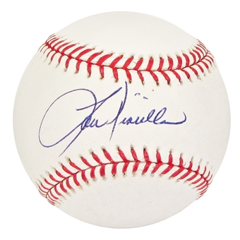 Lou Piniella Autographed New York Yankees Official Major League Baseball (JSA COA)