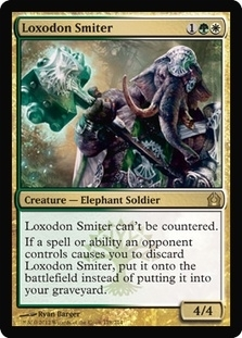 Magic the Gathering Return to Ravnica Single Loxodon Smiter - NEAR MINT (NM)