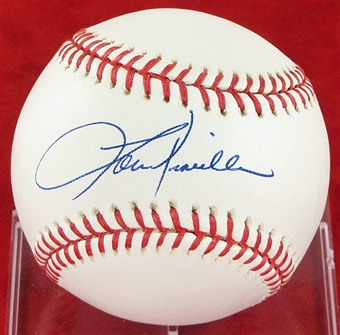 Lou Piniella Autographed Official Major League Baseball (JSA COA)