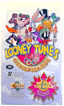 1996 Upper Deck Looney Tunes Olympic Cards Prepriced Box
