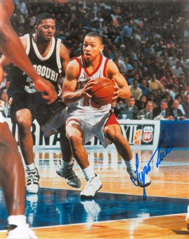 Tyronn Lue Autographed Nebraska Cornhuskers 8x10 Photo (Press Pass)