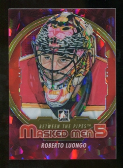 2012/13 In the Game Between The Pipes Masked Men V Rainbow #MM27 Roberto Luongo