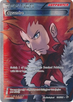 Pokemon XY Flashfire Single Lysandre 104/106 FULL ART - SLIGHT PLAY (SP)
