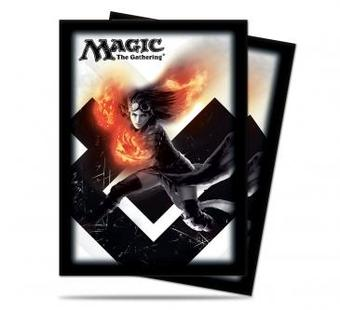 Ultra Pro Magic M15 Chandra, Pyromaster Standard Sized Deck Protectors (Case of 6000 Sleeves)