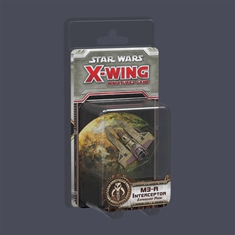 Star Wars X-Wing Miniatures Game: M3-A Interceptor Expansion Pack