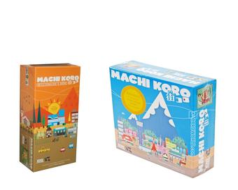 COMBO DEAL - Machi Koro Board Game & Machi Koro Millionaires Row Expansion