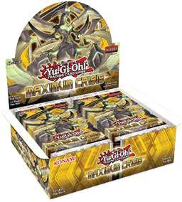Yu-Gi-Oh! Maximum Crisis Booster 12-Box Case (Presell)
