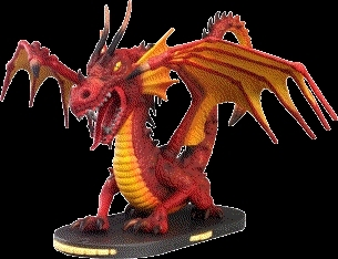 WizKids Mage Knight Great Fire Dragon Figurine
