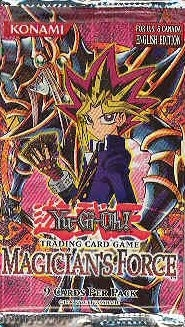 Upper Deck Yu-Gi-Oh Magician's Force Unlimited Booster Pack