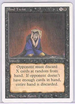 Magic the Gathering 3rd Ed (Revised) Single Mind Twist - NEAR MINT (NM)