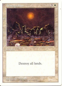 Magic the Gathering 5th Edition Single Armageddon - NEAR MINT (NM)