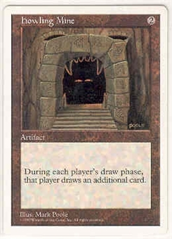 Magic the Gathering 5th Edition Single Howling Mine - NEAR MINT (NM)