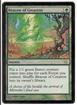 Magic the Gathering Fifth Dawn Single Beacon of Creation FOIL
