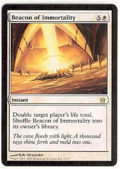 Magic the Gathering Fifth Dawn Single Beacon of Immortality UNPLAYED (NM/MT)