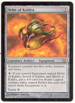 Magic the Gathering Fifth Dawn Single Helm of Kaldra - NEAR MINT (NM)
