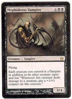 Magic the Gathering Fifth Dawn Single Mephidross Vampire - SLIGHT PLAY (SP)