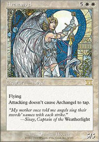 Magic the Gathering 6th Edition Single Archangel - NEAR MINT (NM)